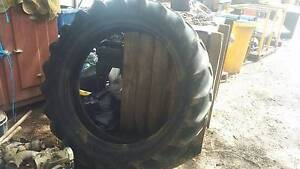 Large Tractor Tire Gumeracha Adelaide Hills Preview