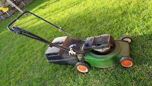 Victa 2 stroke lawnmower