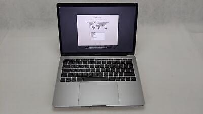 "Apple MacBook Pro 13.3"" 2017 A1708, Intel i5 2.3GHz 128GB SSD 8GB Ram Space Grey"