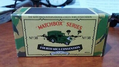 Matchbox MB38 MICA 4th UK Convention Ford Model A Van