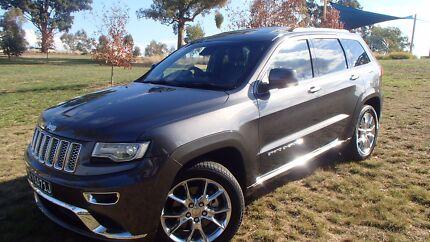 2014 Jeep Grand Cherokee Summit Auto 4x4 MY14