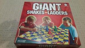 Giant Snakes and Ladders Boardgame Great Christmas Gift! NEW Eleebana Lake Macquarie Area Preview
