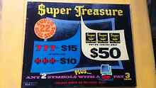 Poker machine perspex vintage sign man cave art light great gift Dunoon Lismore Area Preview