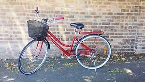 Adult bicycle Vintage Cyclops red cruiser Mosman Park Cottesloe Area Preview