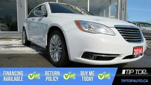 2014 Chrysler 200 Limited ** Leather, Bluetooth, Sunroof, Remote