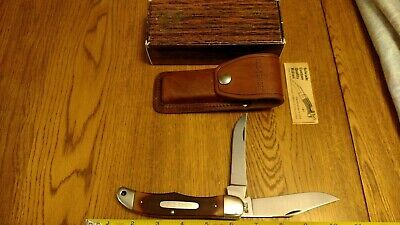 SCHRADE Old Timer U.S.A. 250T 25 OT Hunting Knife Saw Cut Delrin Sheath NOS