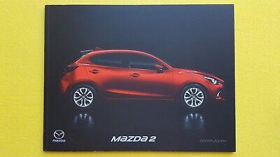 Mazda 2 SE Nav SE-L Sport + car sales brochure catalogue April 2018 MINT