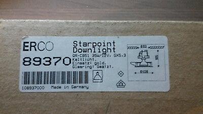 ERCO Starpoint Downlight 10.89370 QR-CB51 35W/12V GX5,3 Kaltlicht Einsatz Gold