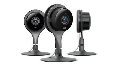 Google Nest Cam Indoor Security Camera - set of 3