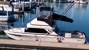"""1989 Bertram 28 game boat """"HELLRAISER"""" Scarborough Redcliffe Area Preview"""