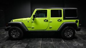 2017 Jeep Wrangler Unlimited Rubicon REMOVABLE HARD TOP! LEAT...