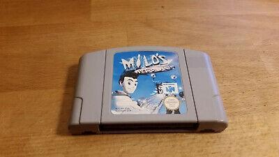 Milo's Astro Lanes Nintendo 64 N64 PAL #2