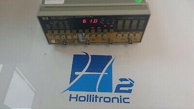 Hp 8116a Pulsefunction Voltage Waveform Generator 50 Mhz 120v Used