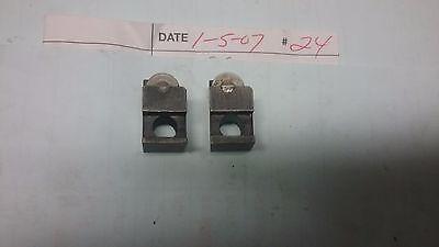 Brown And Sharpe Box Tool Roller Block Assemblies 2pcs