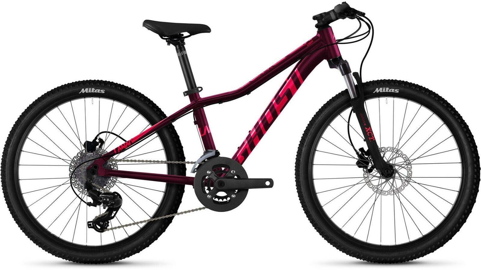 "24""Kinderfahrrad Mountainbike Ghost Lanao Essential Mädchen Mountainbike NEU"