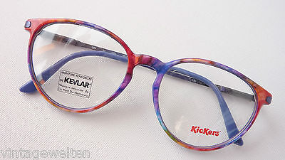 Kickers Children's Glasses with Sturdy Spring Clip Frames Colourful Solid Size (Sturdy Eyeglass Frames)