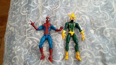 Marvel Legends Retro Spiderman And Electro