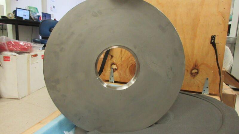 Novellus 952195 Vacuum Chamber Plate Pedestal.407421