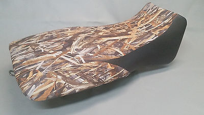 Yamaha YFM350 Grizzly 350 Seat Cover 2-tone DRT CAMO & Black Front Sides for sale  Shipping to Canada