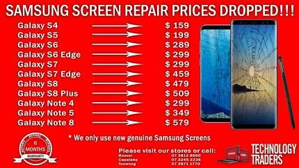 Samsung Screen Repair Prices Dropped!!!