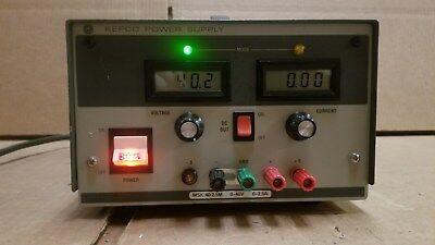 Kepco Msk40-2.5m Dc Power Supply 0-40v 0-2.5a Good