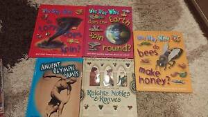 Books for children non-fiction, as new hardcovers, lot of 5 Kirrawee Sutherland Area Preview