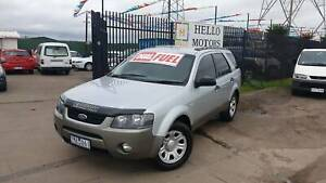 2007 FORD TERRITORY DUAL FUEL LPG RWC REGO Ravenhall Melton Area Preview