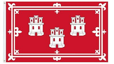 The City of Aberdeen Flag 5x3ft Two Grommets