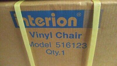 1 New Interion Armless Vinyl Chair 516123