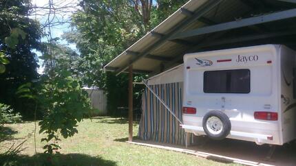 Caravan with Annex for Rent in Gordonvale Cairns.