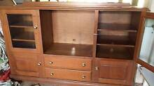 TV cabinet,  solid Timber Nundah Brisbane North East Preview