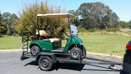 2008 EZ-GO Golf Buggy / Cart and 2014 Tilt-Trailer Waterford West Logan Area Preview