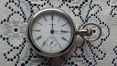 Waltham 18s 15 Jewel Pocket Watch