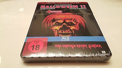 Halloween 2 II Metalpak STEELBOOK Light Up Eyes & Theme Music (Blu-ray, - Halloween Themed Music