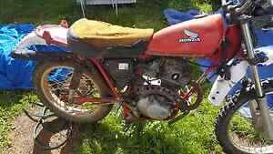 Honda ct 185 motor bike Denman Muswellbrook Area Preview
