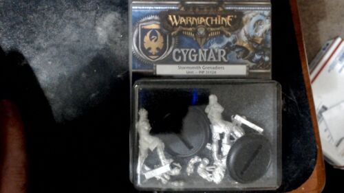 Warmachine Privateer Press Black 13th Strike Force Arcane Tempest Unit