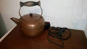 Copper Electric Kettle Bakelite Fittings - Working Condition Wooroloo Mundaring Area Preview