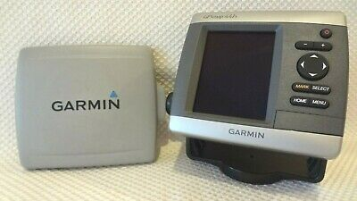 GARMIN GPSMAP 441S CHART PLOTTER FISH FINDER GPS NAVIGATION UNIT w MOUNT & COVER