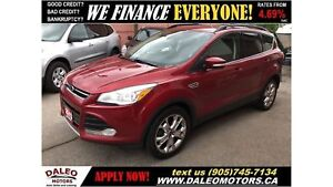 2013 Ford Escape SEL| LEATHER| BLUETOOTH| HEAT/MEMORY SEATS
