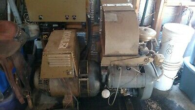 Kohler Generator 15kw With Wisconsin Engine And Many Extra Parts With Spare Gen.