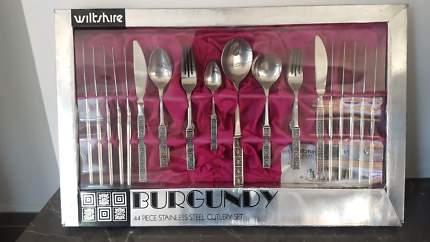 Wiltshire 44 piece Stainless Steel Cutlery set - New!