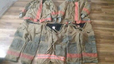 Used Retired Lion Janesville Firefighter Turnout Prepping Gear Lot