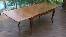 Stunning French Provincial Extension Dining Table Glen Iris Boroondara Area Preview