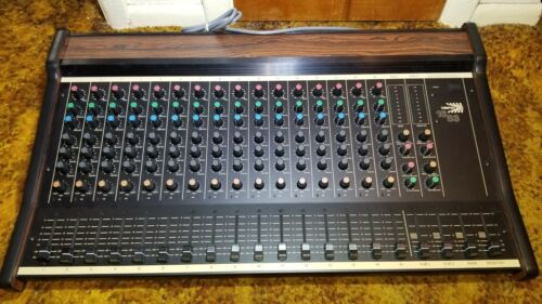 Biamp 1683 Audio Mixer Mixing Console 16 channels