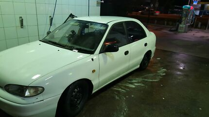 Hyundai excel 1997 genuinely low kms 114xxx sell swap now Flemington Melbourne City Preview