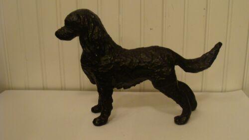 "Beautiful Metal Cavalier King Charles Spaniel Dog Figurine 10"" long"