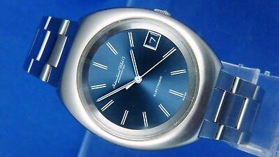 Vintage IWC International Watch Company Electronic F300Hz Watch New Old Stock