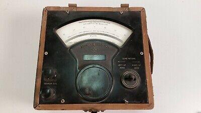 Vintage Sensitive Research Instrument Fluxmeter