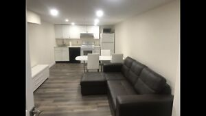 Furnished room in basement for rent