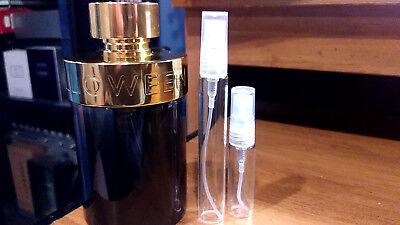 Halloween Man Fragrance (Halloween Man Shot  5 or 10 ML Sample in Glass Spray Atomizer)